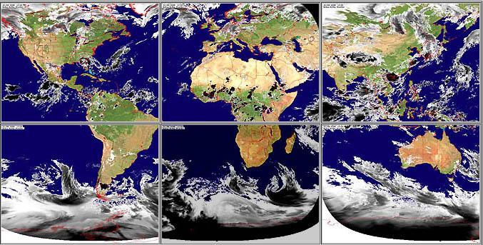 mapa mundial satelital en vivo